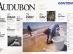 Audubon Magazine, September - October 1994 issue, table of contents
